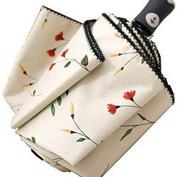 Parapluie Femme Pliant automatique Begonia Flower  |  A Sweet Date