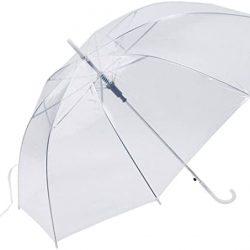 Parapluie Coupe|Vent De Mode Transparent Clair Automatique Parasol pour La Fête