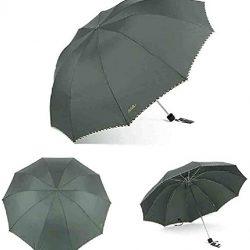 Parapluie Homme Bumbershoot Pliant Hommes Corporation Portable Pluie Coupe|V