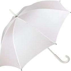Parapluie Femme Blanc Mariage Fille  |  Long de Mariée Élégant  |  Idéal p