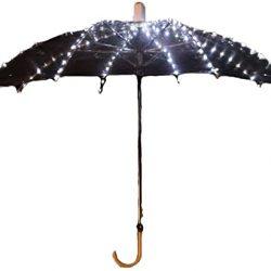 Parapluie JTIH® Droit, Lumineux à LED Transparent