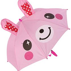 Parapluie Enfant 3D Oreille Enfants pour Les Filles garçons Mignon Cartoon Enfants Para