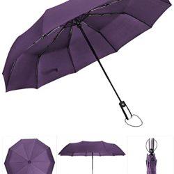 Parapluie Homme entièrement Automatique résistant au Vent Pliant Grand Voyage Voiture
