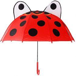 Parapluie Enfant Enfant pour Garçons et Filles (Coccinelle)