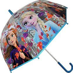 Parapluie Frozen Transparent Cloche 19′ 2 Camping et Randonnée Enfant Jeunesse U