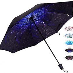 Parapluie Femme de voyage compact pour et homme  |  Coupe | vent et pluie  |  Plusieur