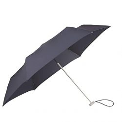 Parapluie Homme Alu Drop S | 3 Section Manual Mini Flat Pliant, 23 cm, Bleu (Indigo Bl
