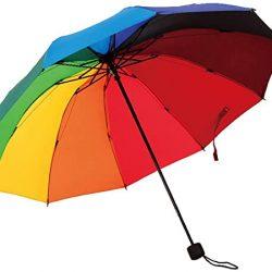 Parapluie Enfant Triple Pliable pour Un Temps pluvieux et ensoleillé Arc-en-Umbrella 10