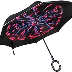 Parapluie Tikismile – inversé en forme de boule – Coupe-vent – Protection UV – P