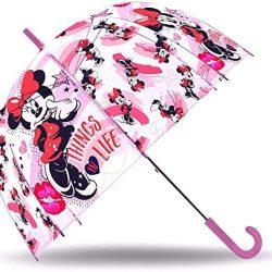 Parapluie Cloche Transparent Minnie e , WD19201, 19»