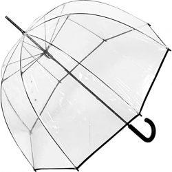 Parapluie Cloche Transparent | de qualité supérieure | | Avec bordure noire