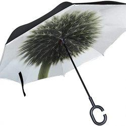 Parapluie Tikismile inversé avec poignée en forme de C