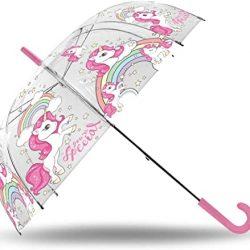 Parapluie Kids Licensing | Universel Transparent Voiture 20″ Fibre de Verre, Mul