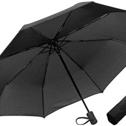 Parapluie Twolights Pliant Solide Inversé Automatique de Golf Anti Ven