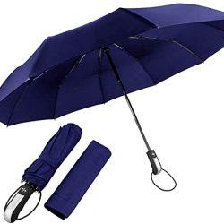 Parapluie Femme Pliant, Coupe | Vent & Ultra | léger, Ouverture et Fermeture Aut