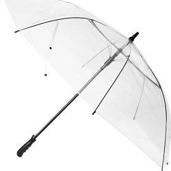 Parapluie Femme 60 Pouces Grand Transparent Dôme Golf Umbrellas Ouverture Automatique