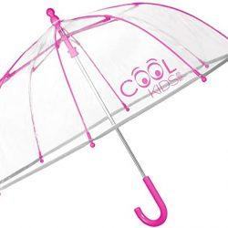 Parapluie Cloche Transparent Enfant | en PEG Garçon et Fille | Long av