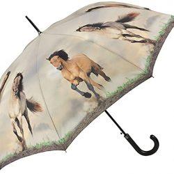 Parapluie Homme Automatique Femme Chevaux Sauvages