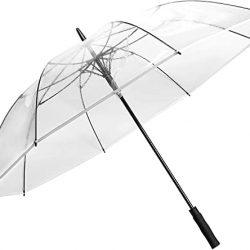 Parapluie 62 Pouces Grand Transparent Dôme Golf Umbrellas Ouverture Automatique