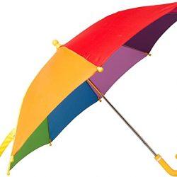 Parapluie Enfant Rainbow d'arc-en-ciel des enfants- amusement et coloré du so