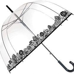 Parapluie Cloche Transparent | Dentelle | Smaty