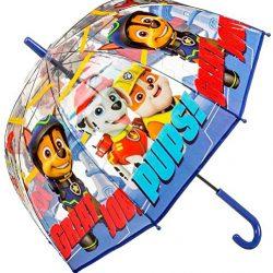 Parapluie Disney | Pat Patrouille Cloche Transparente, PW16280, 19»