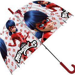 Parapluie Ladybug Transparente Cloche, LB17042, 19»