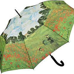 Parapluie Femme Automatique Motif Art Claude Monet: Champ de Coquelicots