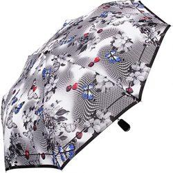 Parapluie Femme pliants Multicolore Schwarz | weiß 99 cm