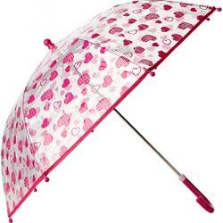 Parapluie Herzchen Parapluie, Transparent, Taille Unique Fille